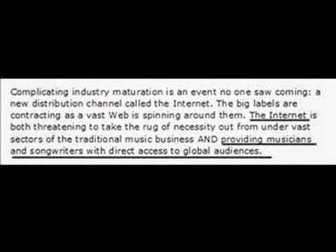 The anti-RIAA Video