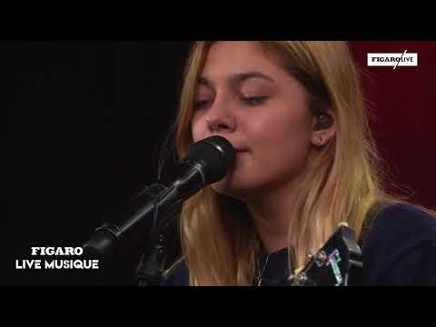 Louane est l'invitée de Figaro Live musique