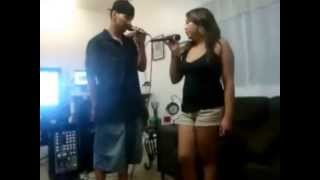 Twisted by Keith Sweat. (1st time singing together)