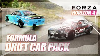Forza Horizon 4 - FORMULA DRIFT CAR PACK DRIFTING! (All Cars)