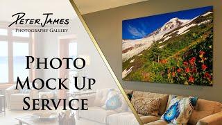 CHOOSING NATURE PHOTOS - Photo Mockup Service