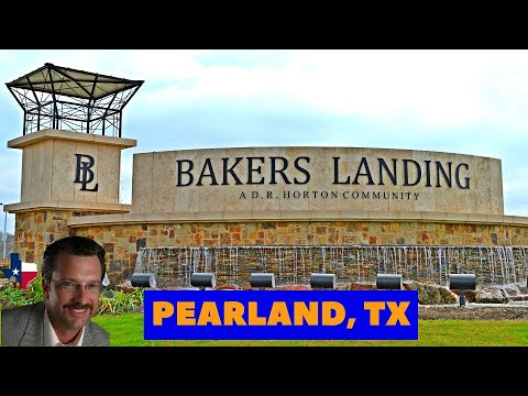 Pearland New Homes - Bakers Landing