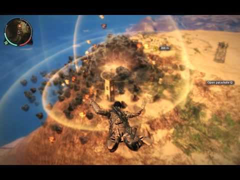 Just Cause 2 Huge Nuclear Explosion