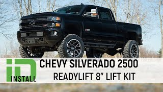 Chevy Silverado 2500 Readylift 8 Inch Lift Kit Installation