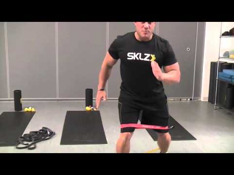 Glute Activation Exercises with Mini Bands