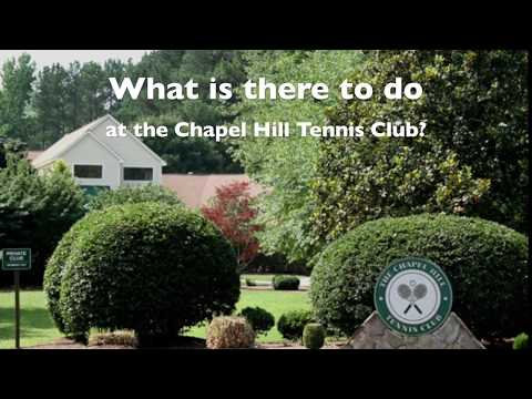 Chapel Hill Tennis Club - Check out our latest improvements!