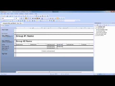 Advanced Crystal Reports 2011 Tutorial | Adding Summary Functions