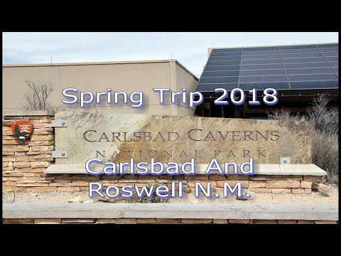Third Annual Spring Trip to Carlsbad and Roswell New Mexico