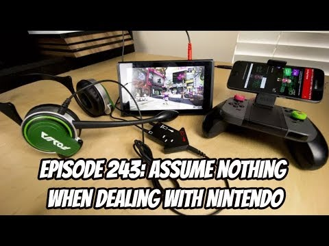 Assume Nothing When Dealing with Nintendo - Episode 243 - Dense Pixels Podcast