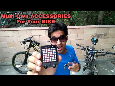 5 AWESOME 🔥 Bicycle ACCESSORIES that you MUST See !!