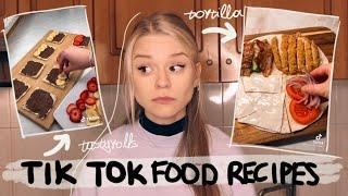 Δοκίμασα φαγητά του ΤΙΚ ΤΟΚ