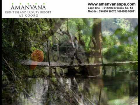 Amanvana at Coorg A Luxury Resort Spa with Eight Islands on the river kaveri