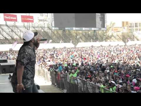 Cassper Nyovest performing Doc Shebeleza at Wander
