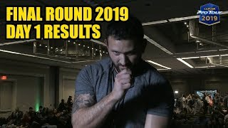 Final Round 2019 - Street Fighter V - Day 1 Pool Results