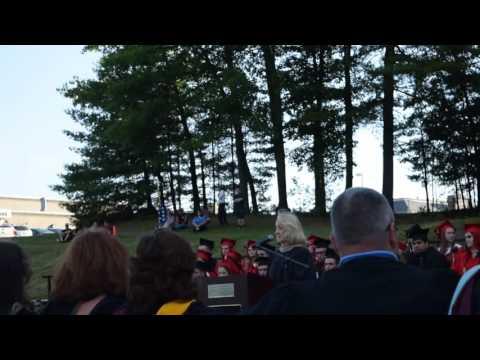 Kathy Weidman Tourtellotte Memorial High School Commencement Speech 2016