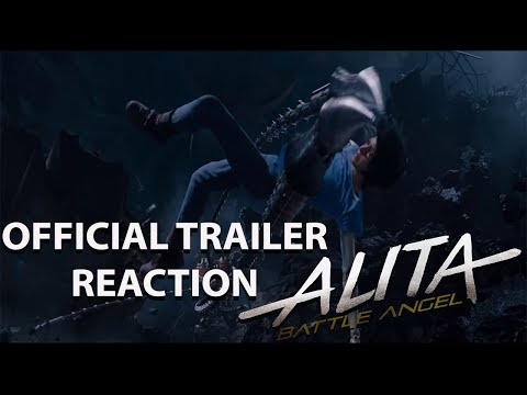 Alita: Battle Angel Official Trailer REACTION