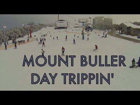 Mt Buller day trip. snowboarding