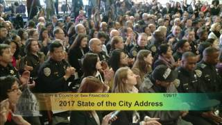 mayor ed lee delivers the 2017 state of the city address