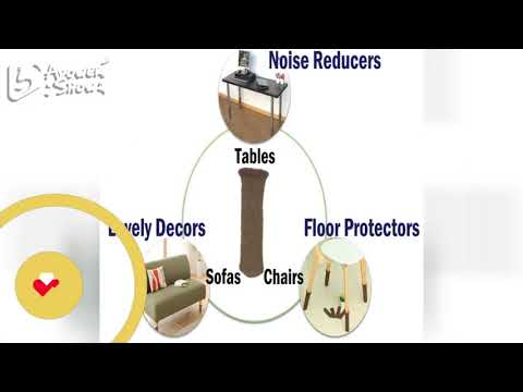 WISLIFE Floor Protectors – Chair Socks, Protect Floors from Scratches & Reduce Noise