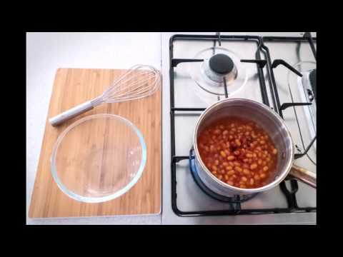 Herb Hack #9 Gourmet Baked Beans and Eggs