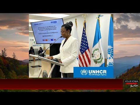 United Nations HCR Besem Obenson joins host Brent Roske on Your Iowa Morning