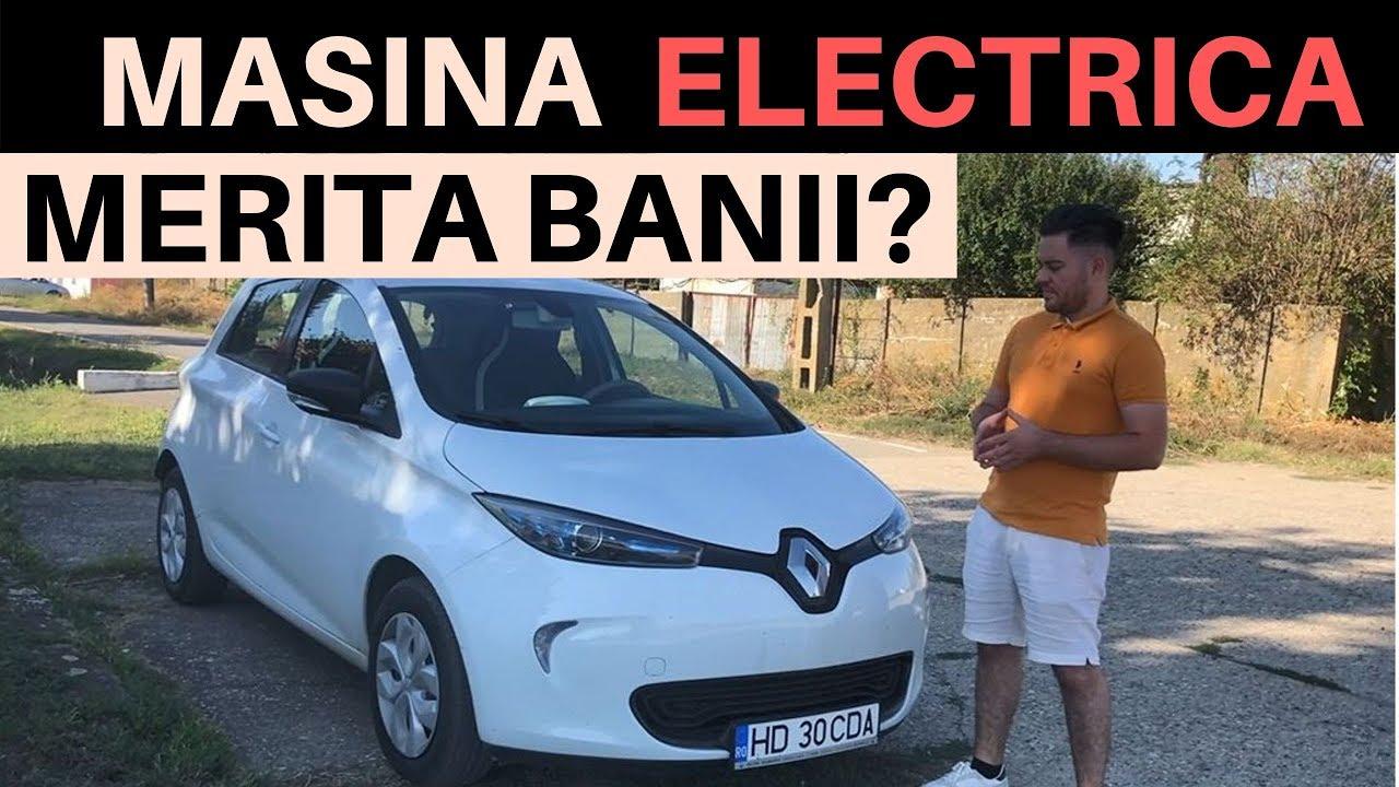 Este RENAULT ZOE cea mai ieftina masina electrica vanduta in ROMANIA?