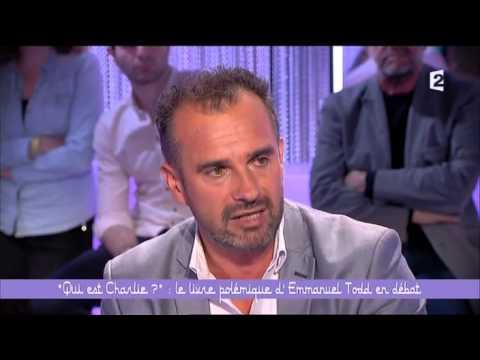 Ce soir ou jamais !   «Qui est Charlie » retour sur le livre polémique d'Emmanuel Todd France 2 2015