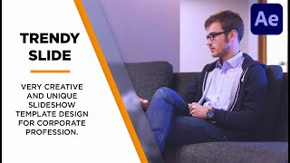 Corporate Slideshow in After Effects   After Effects Tutorial   Free Download