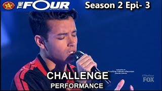 Christian Gonzalez sings Hold On We're Going Home 16 y.o. Puerto Rican  The Four Season 2 Ep. 3 S2E3