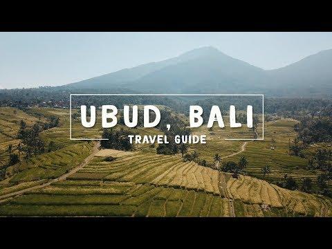 WOW air travel guide application - UBUD, BALI