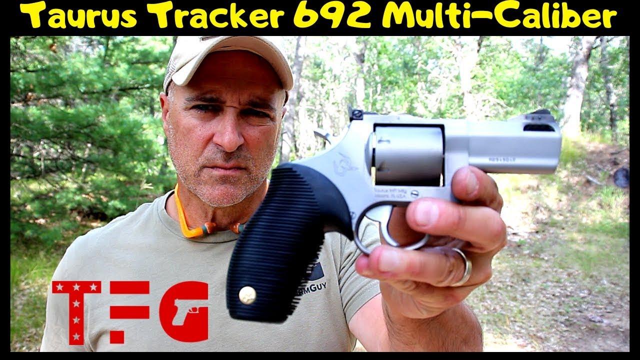 Taurus Tracker 692 Multi-Caliber Range Review (NEW 2019) - TheFirearmGuy
