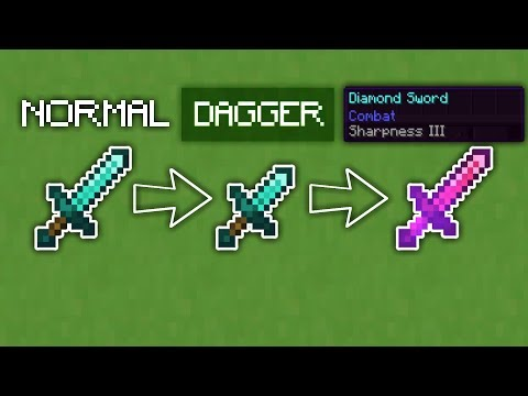 Minecraft - Name And Enchant Dependent Item Textures Tutorial  (1.14+)
