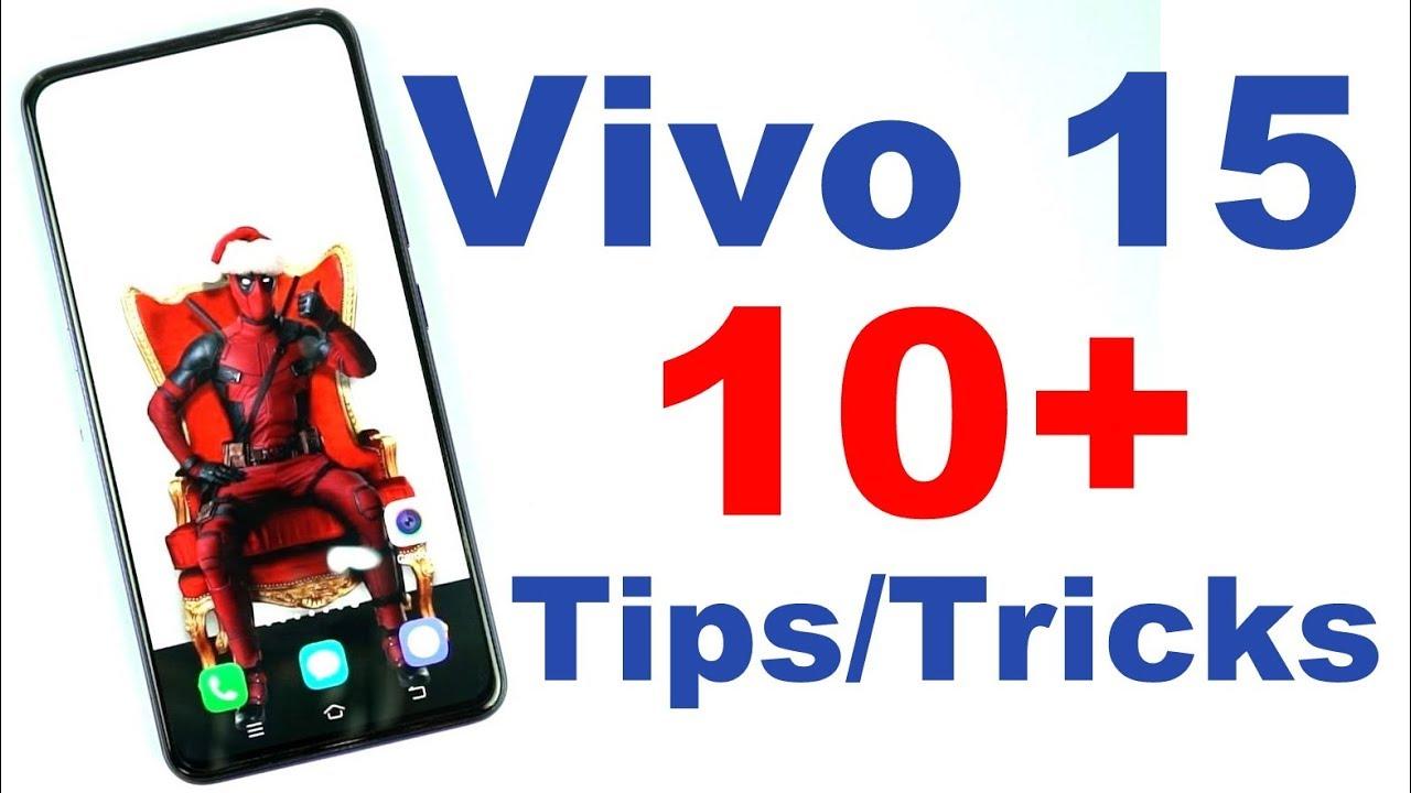 Vivo V15 Tips and Tricks – Greedytech