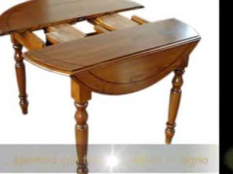 Tavolo A Bandelle Moderno.Tavolo Classico Frassino Intarsiato Apribile A Bandelle Stile 800
