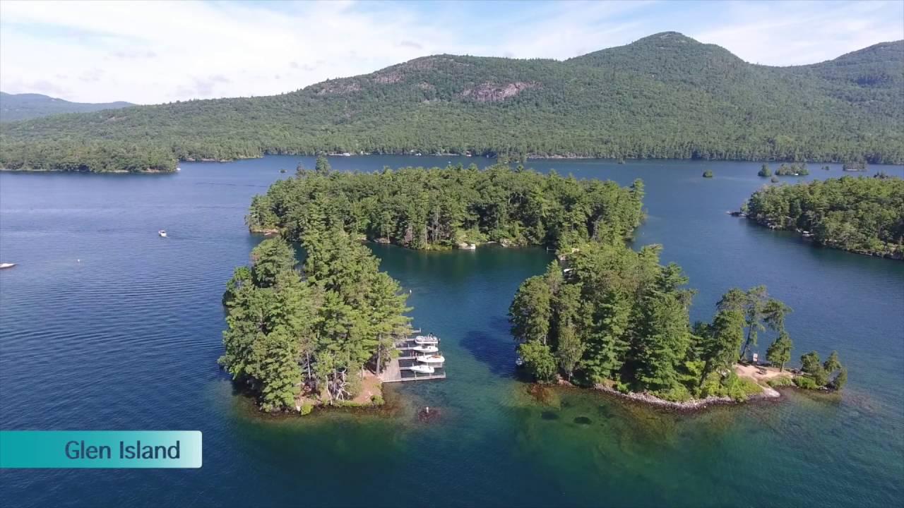 Camping At Island On Long Lake Ny