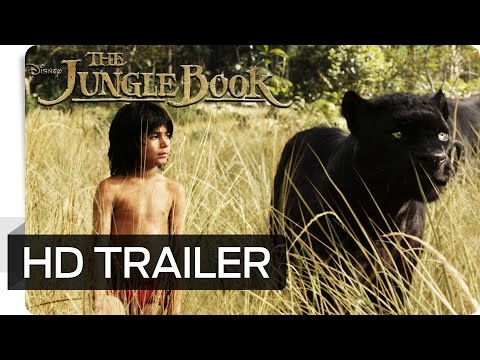 THE JUNGLE BOOK - Erster Offizieller Trailer (German | deutsch) - Disney HD