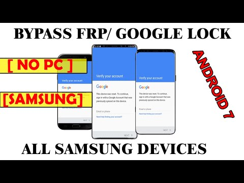 Bypass Google Account (FRP Bypass) Android 7 1 (Latest patch