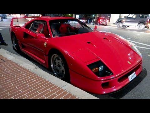 Ferrari F40 garée CONTRE LE TROTTOIR à Monaco ?