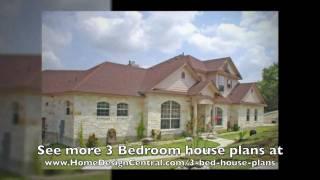 3 Bedroom House Plans At Home Design Central.com