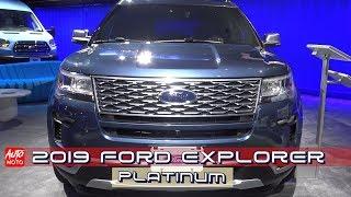 2019 Ford Explorer Platinum - Exterior And Interior - 2018 LA Auto Show