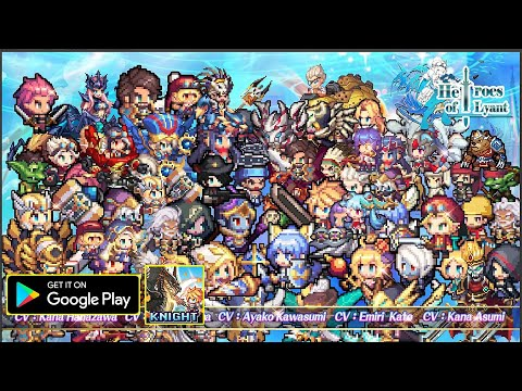 Heroes Of Lyant Gameplay/First Look/New Mobile Game