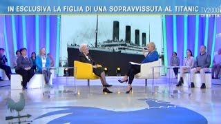Neva Casata, figlia di una superstite del Titanic, a Bel tempo si spera