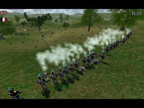 M&B: Napoleonic Wars - Training Battle Highlights 26/06/12 (92nd Gordon Highlanders)