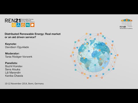 REN21 Renewables Academy 2014 Distributed Renewable Energy