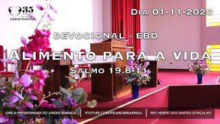 Salmo 19.8-11 - Alimento para a vida