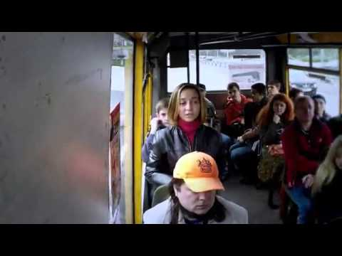 Girl Is Singing Anthem of Ukraine in Public Transport