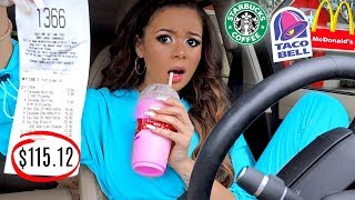 Download Letting the Person In Front of Me DECIDE What I Eat for 24 HOURS! | Krazyrayray Mp3 and Videos