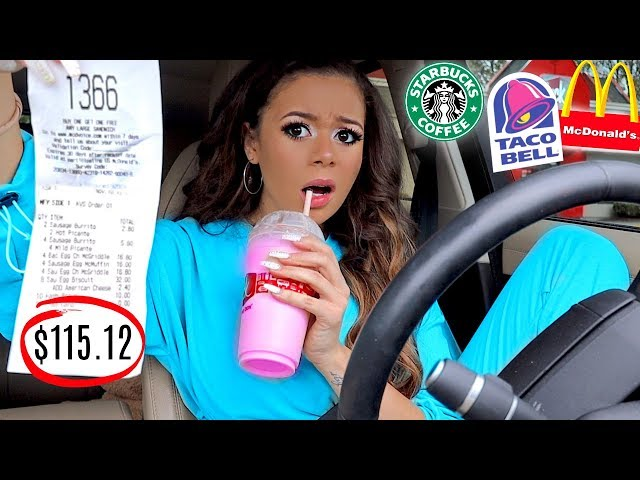 Letting the Person In Front of Me DECIDE What I Eat for 24 HOURS! | Krazyrayray