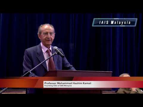 IAIS - Globalisation of War, Welcoming Remarks by Prof. Moh Hashim Kamali
