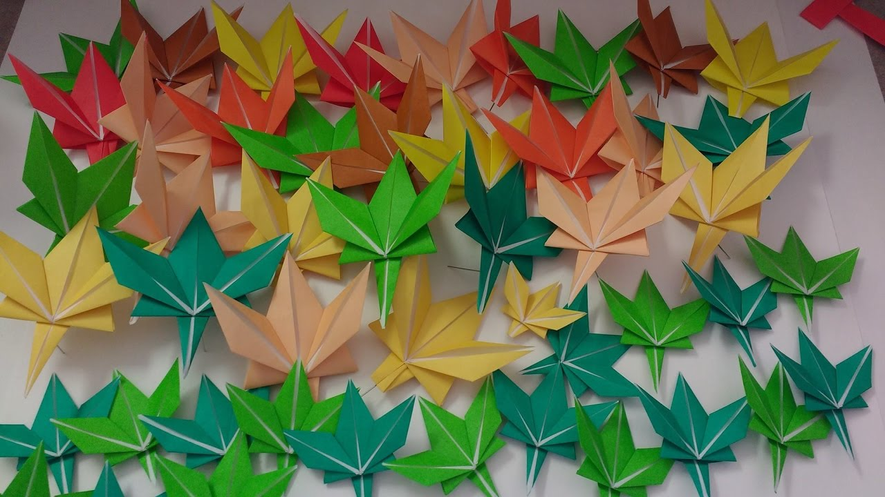 How to Fold an Origami Maple Leaf (Tutorial) - YouTube - photo#8